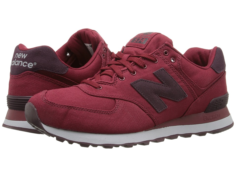 New Balance Classics ML574 (Biking Red Textile) Men