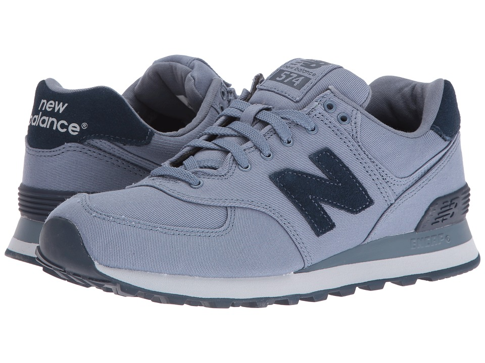 New Balance Classics - ML574 (Blue Rain Textile) Men's Shoes