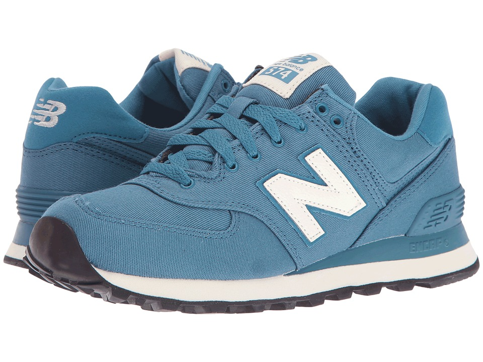 New Balance Classics - WL574 (Riptide Textile) Women's Lace up casual Shoes