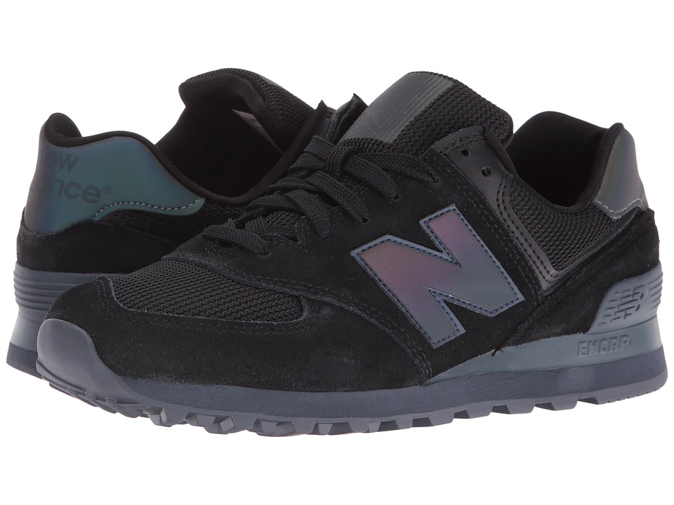 New Balance Classics - ML574 (UV Blue Split Suede/Mesh) Men's Shoes
