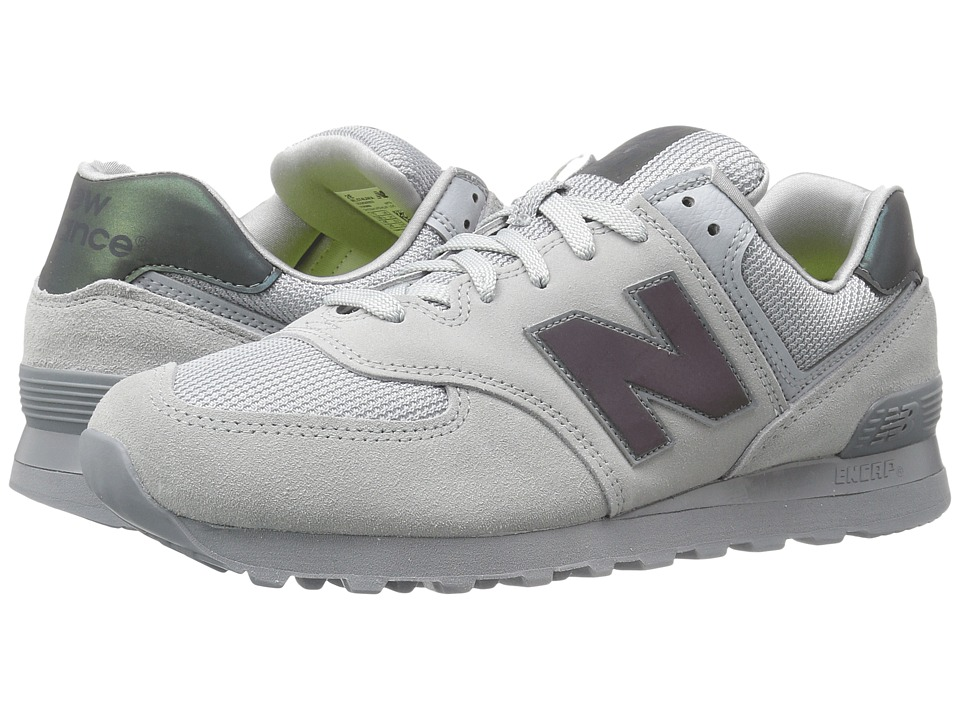 New Balance Classics - ML574 (Silver Mint) Men's Shoes