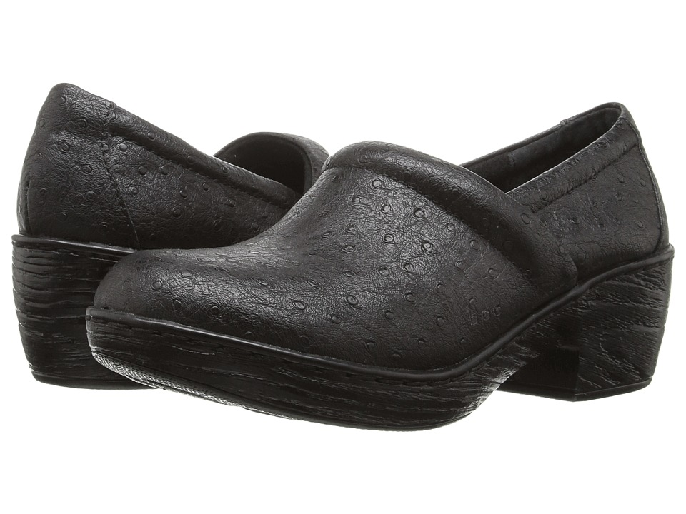 b.o.c. - Nadiyya (Black Ostrich PU) Women's Shoes