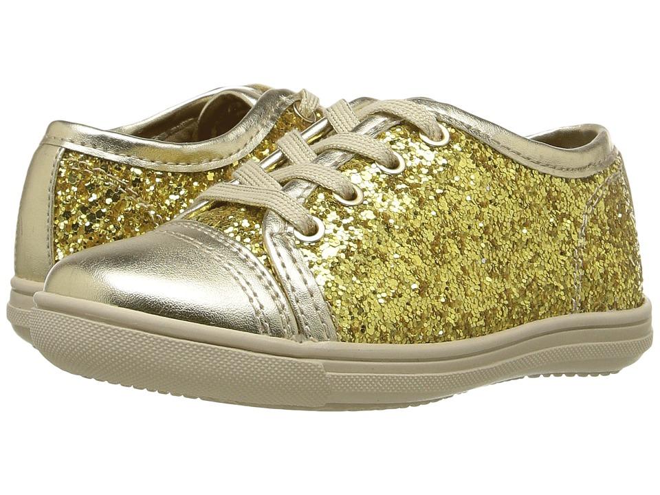 Rachel Kids - Lucie (Toddler/Little Kid) (Gold Glitter) Girl's Shoes
