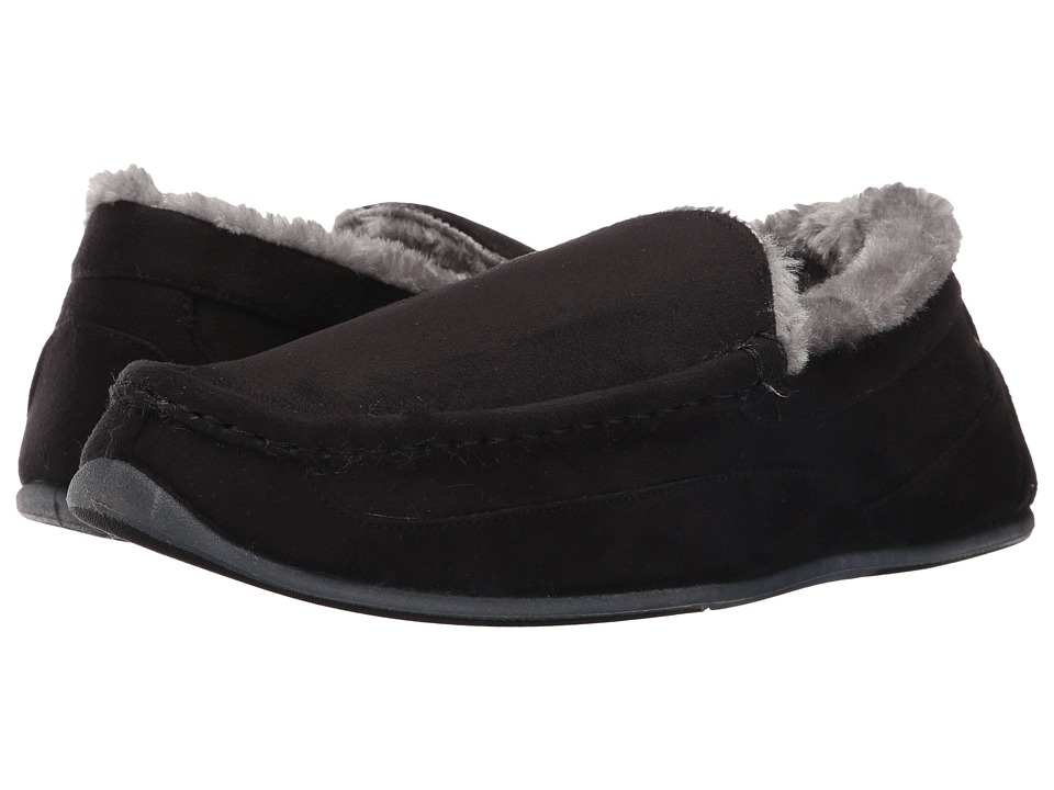 Deer Stags - Aspen (Black) Men's Slippers