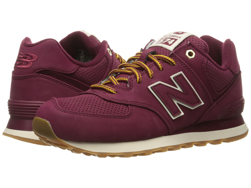 New Balance Classics - ML574 (Sedona Red/Sedona Synthetic) Men's Shoes