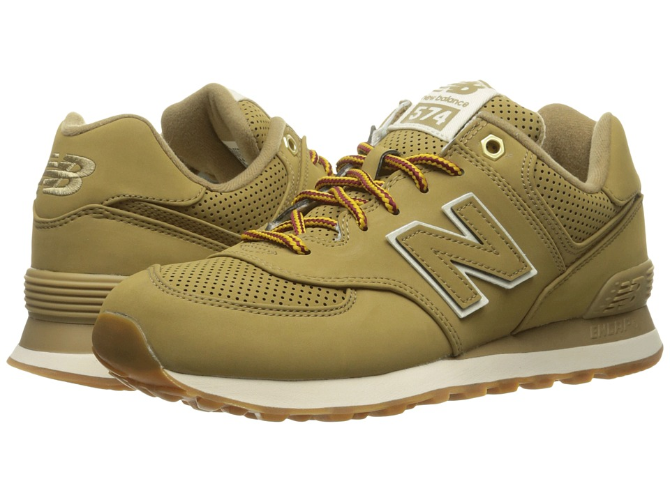 New Balance Classics - ML574 (Linseed Synthetic) Men's Shoes