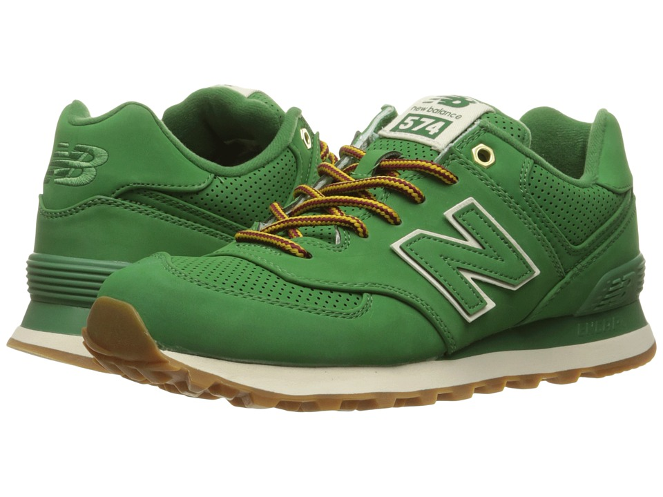 New Balance Classics - ML574 (Spruce Synthetic) Men's Shoes