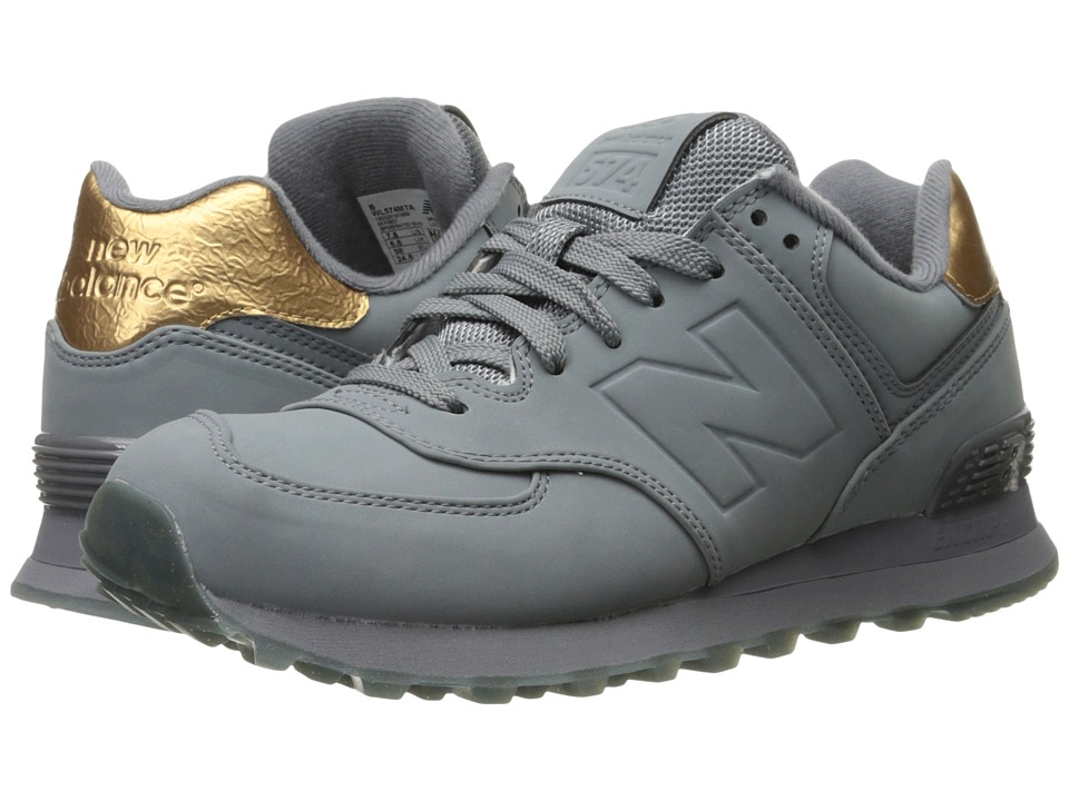 New Balance Classics - WL574 (Gunmetal Synthetic) Women's Lace up casual Shoes