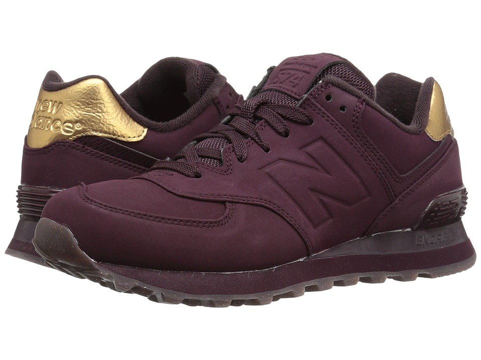 New Balance Classics - WL574 (Supernova Red Synthetic) Women's Lace up casual Shoes