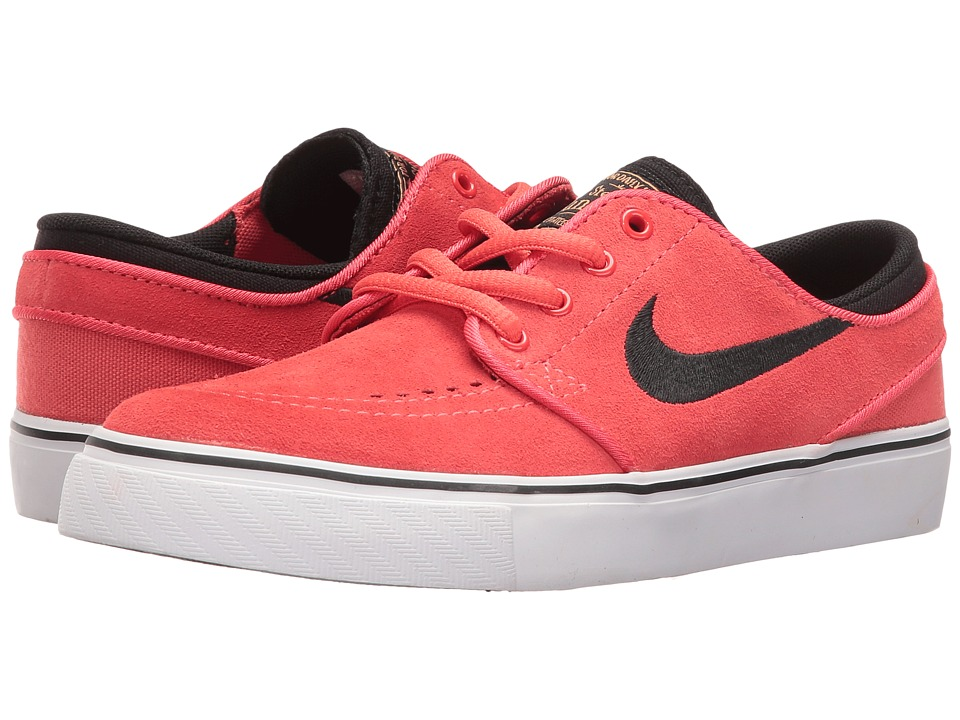 Nike SB Kids - Stefan Janoski (Big Kid) (Ember Glow/Black/White/Metallic Gold) Boys Shoes