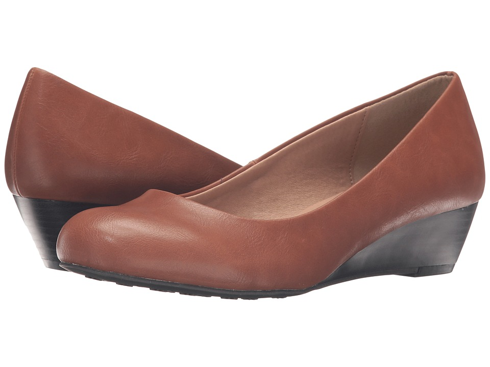Dirty Laundry - DL Marching (Cognac) Women's Wedge Shoes