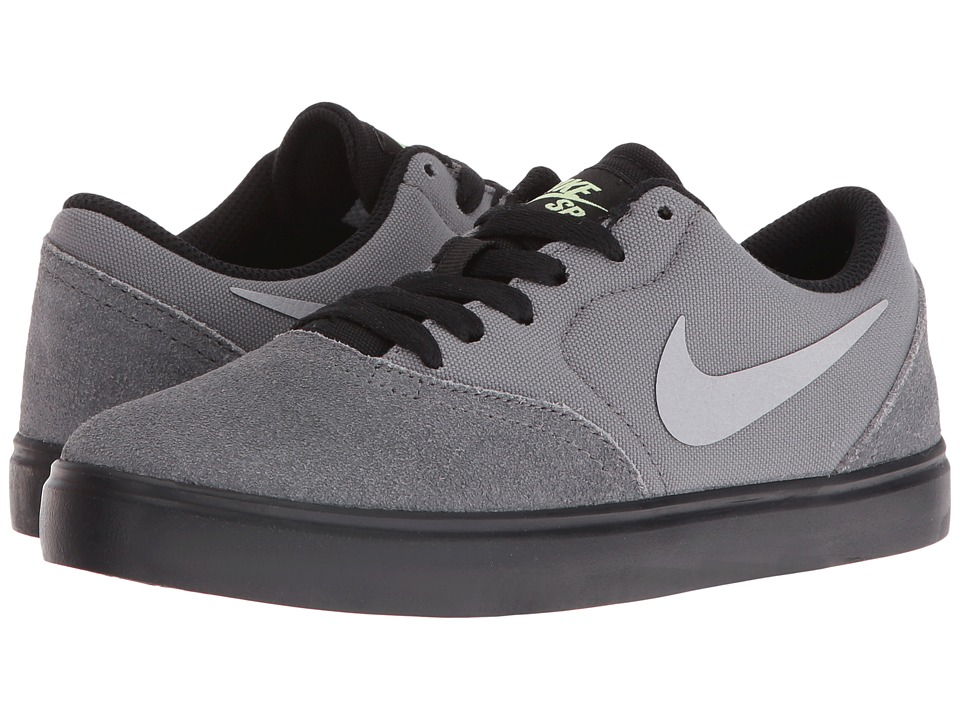 Nike SB Kids - SB Check (Big Kid) (Cool Grey/Wolf Grey/Black/Barely Violet) Kids Shoes