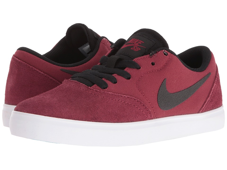 Nike SB Kids - SB Check (Big Kid) (Team Red/Black) Kids Shoes