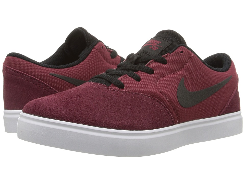 Nike SB Kids - SB Check (Little Kid) (Team Red/Black) Boys Shoes