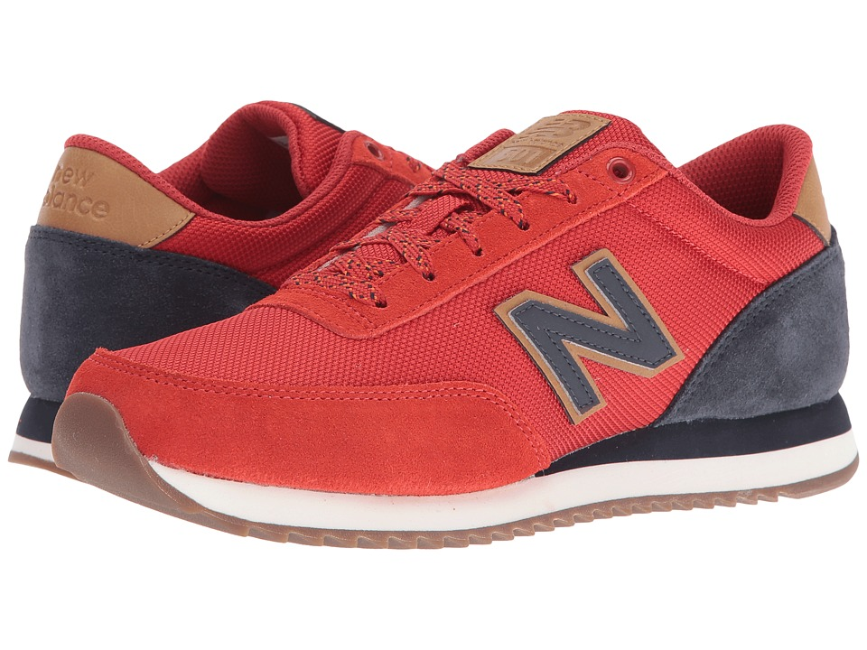 New Balance Classics - MZ501 (Red/Navy Suede/Synthetic) Men's Shoes