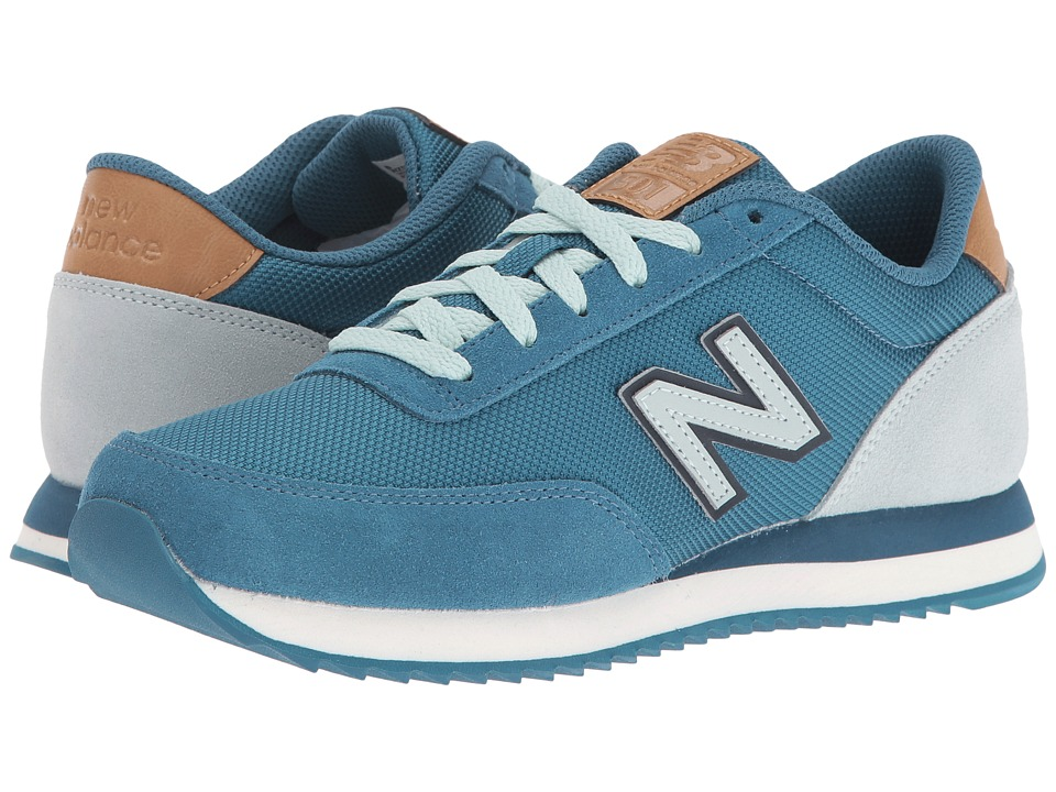 New Balance Classics WZ501 (Blue/Mint Cream Suede/Textile) Women