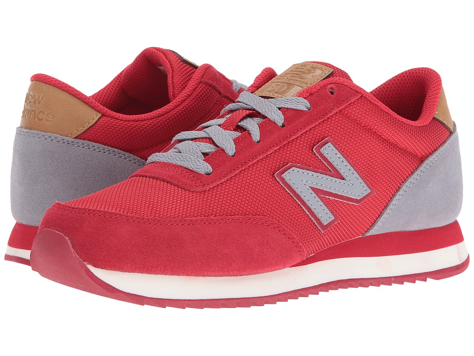 New Balance Classics - WZ501 (Red/Grey Suede/Textile) Women's Shoes