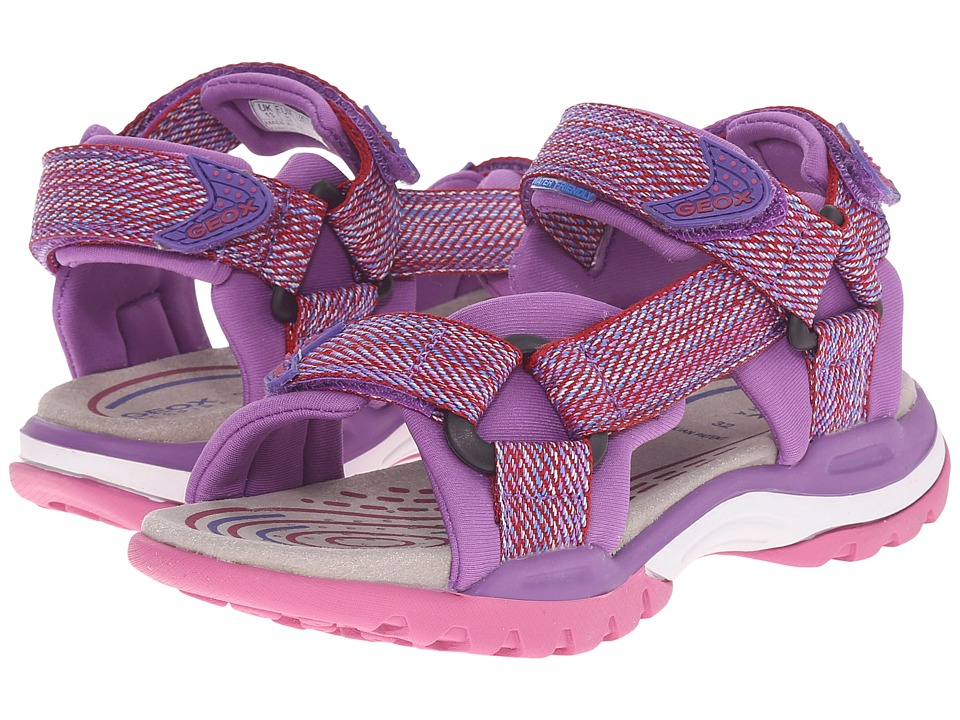 Geox Kids - Borealis Girl 1 (Toddler/Little Kid/Big Kid) (Fuchsia) Girl