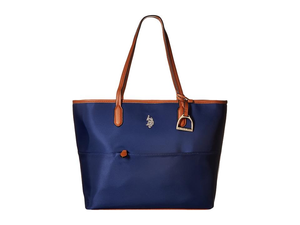 U.S. POLO ASSN. - Maiden Nylon Tote (Navy) Tote Handbags