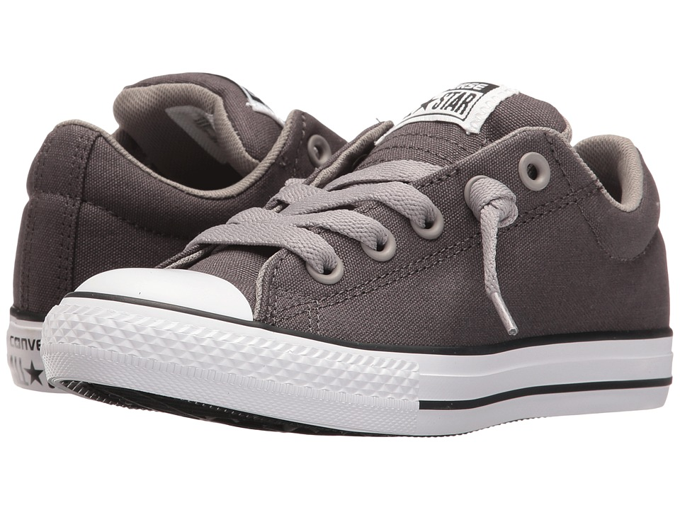 Converse Kids - Chuck Taylor All Star Street Ox (Little Kid/Big Kid) (Shale Grey/Cadet/White) Boys Shoes