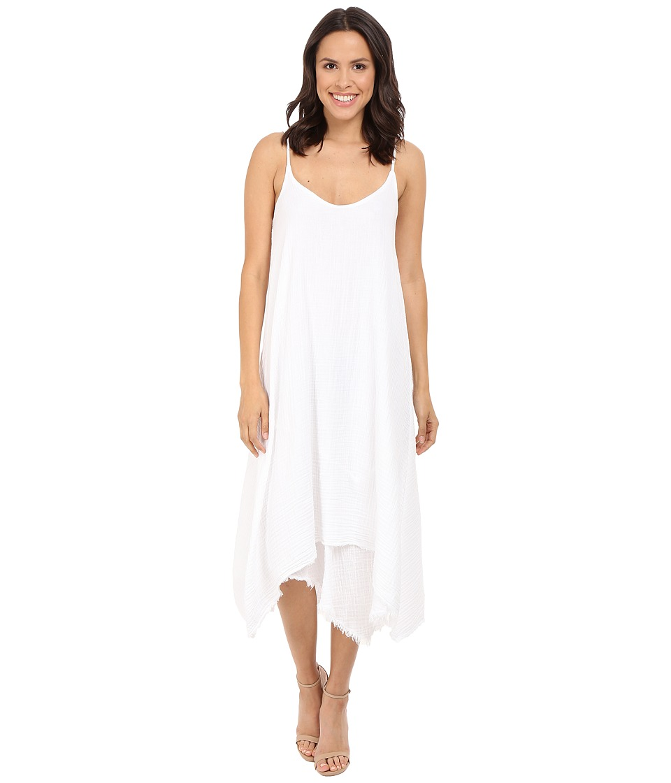 Three Dots - Payton Dress (White) Women's Dress