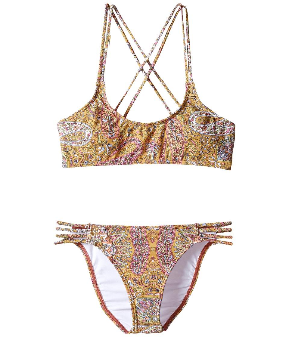 O'Neill Kids - Cozmo Multi Strap Bikini Set (Little Kids/Big Kids) (Multi) Girl's Swimwear Sets