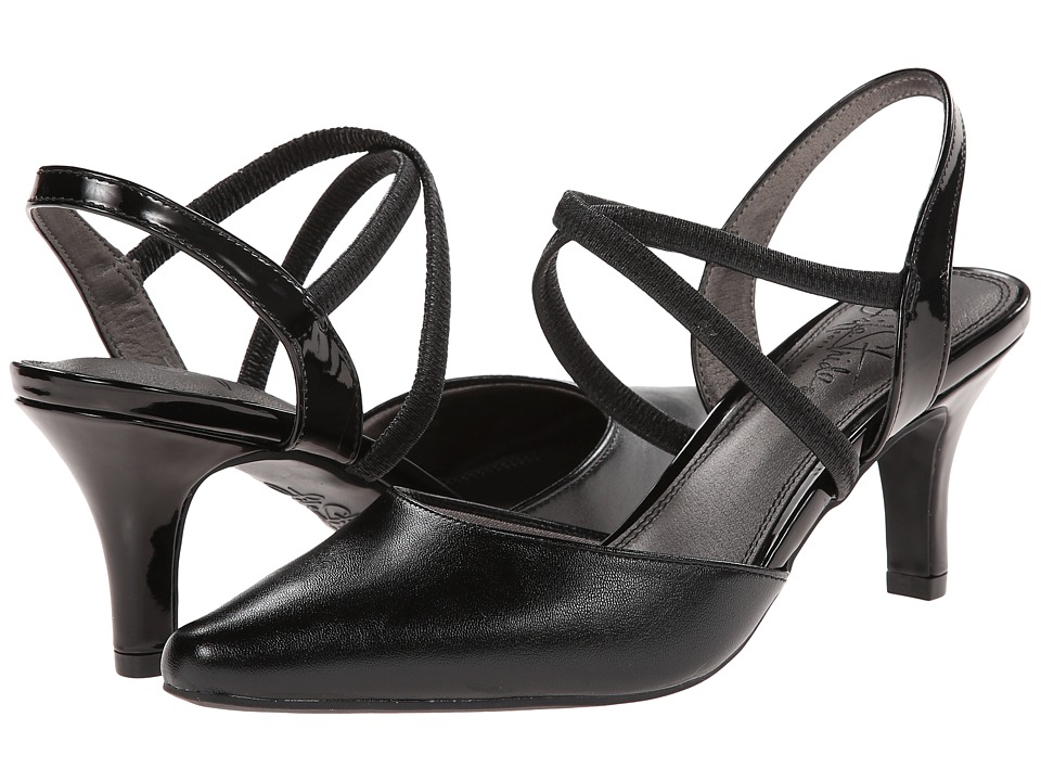 LifeStride - Kalea (Black Patent) Women's Shoes