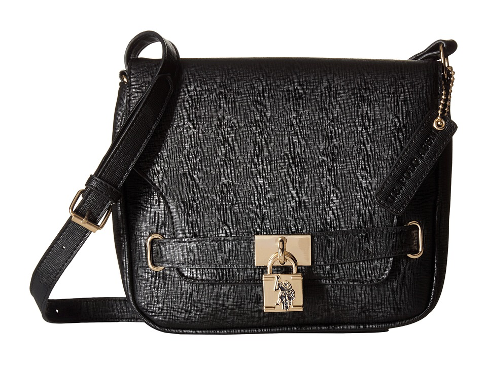 U.S. POLO ASSN. - Robinson Shoulder Bag (Black) Shoulder Handbags
