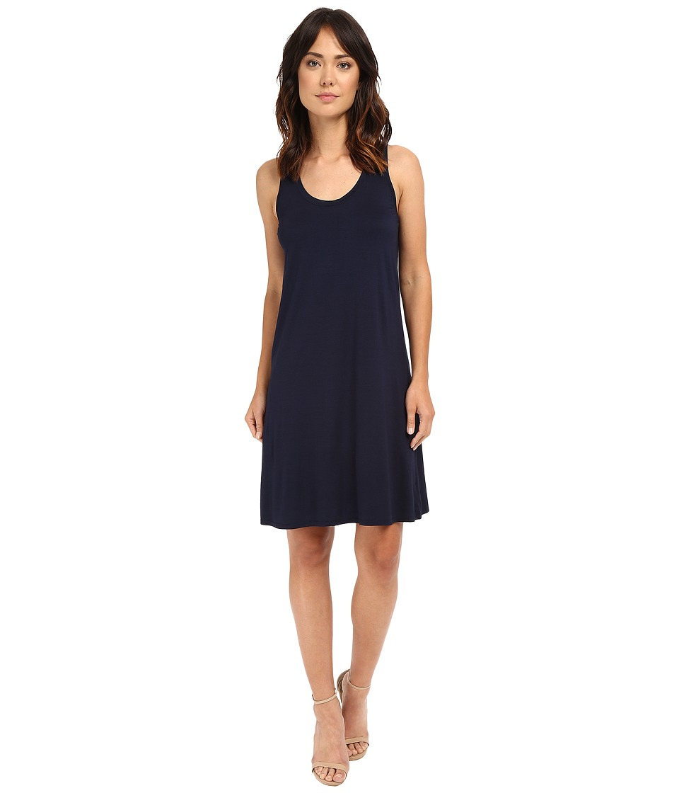 Three Dots - Elsa B Swing Dress (Night Iris) Women's Dress