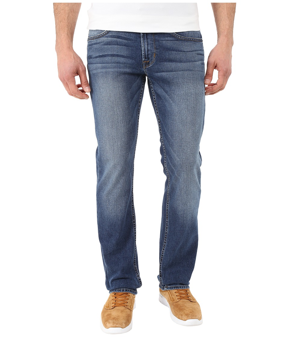 Hudson - Byron Five-Pocket Straight Leg Zip Fly Jeans in Perry (Perry) Men's Jeans