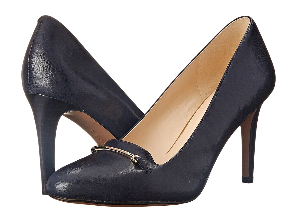Nine West - Hiatus (Navy Leather) Women's Shoes