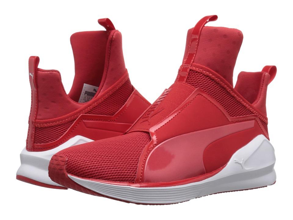 PUMA - Fierce Core (High Risk Red/Puma White) Women's Shoes