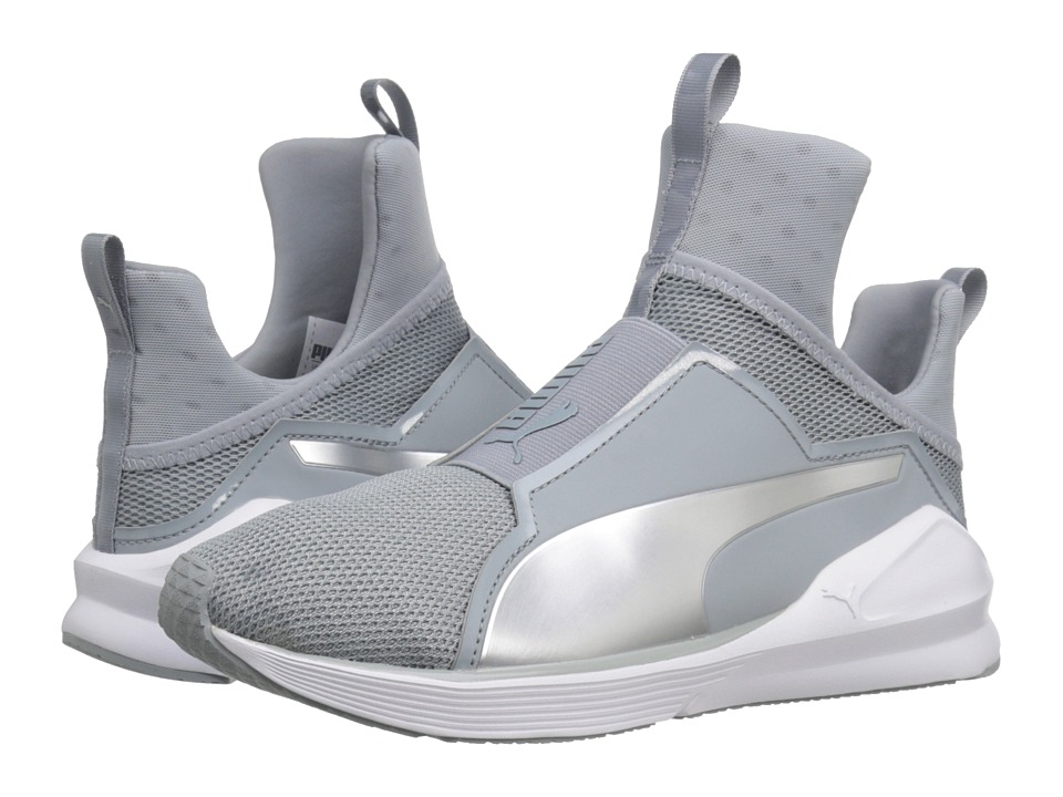 PUMA - Fierce Core (Quarry/Puma White/Puma Silver) Women's Shoes