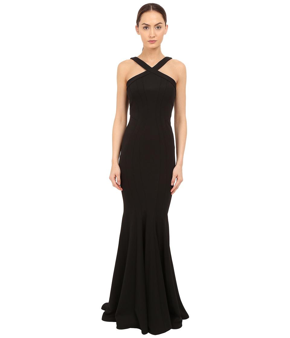 ZAC Zac Posen - Reilley Gown (Black) Women's Dress