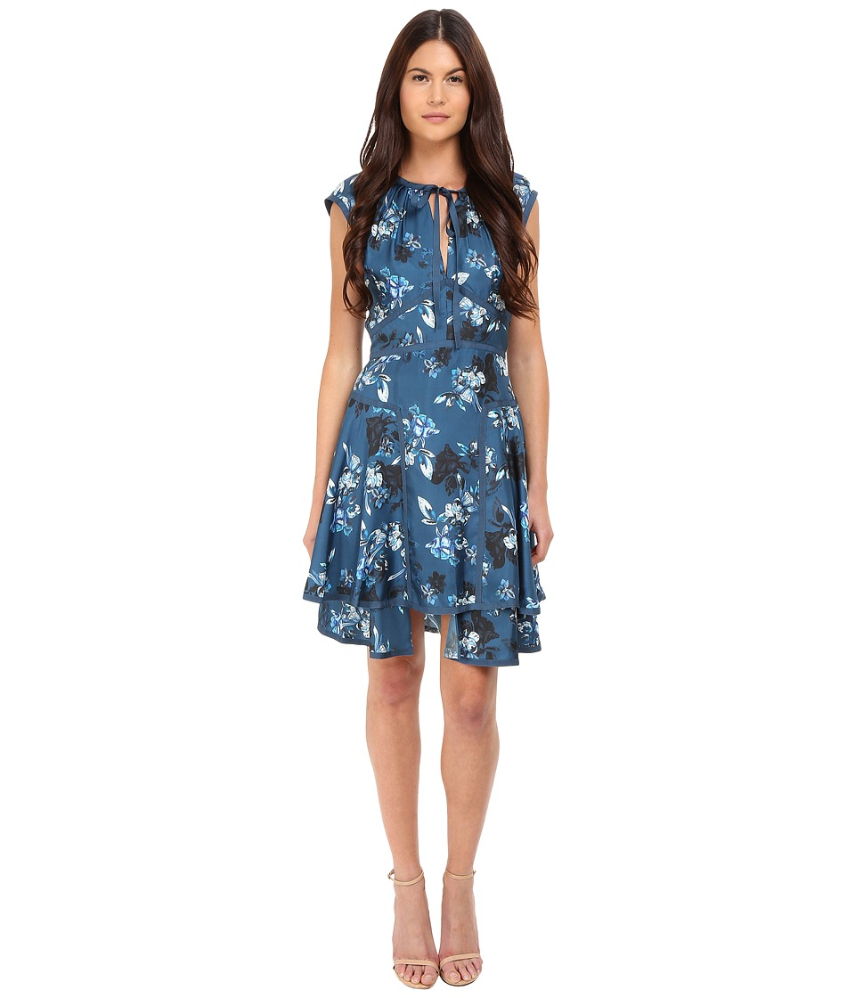 ZAC Zac Posen Henrietta Dress (Navy Multi) Women