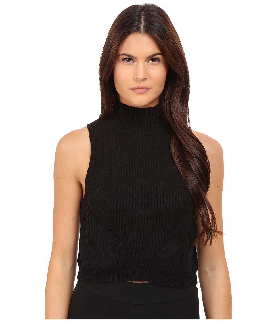 ZAC Zac Posen - Liv Turtle Crop (Black) Women's Sweater