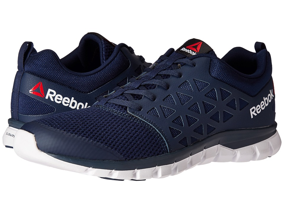 Reebok - Sublite XT Cushion 2.0 MT (Collegiate Navy/White) Men's Running Shoes