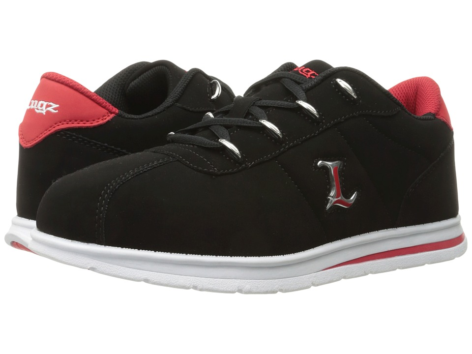 Lugz ZROCS (Black/Red/White) Men