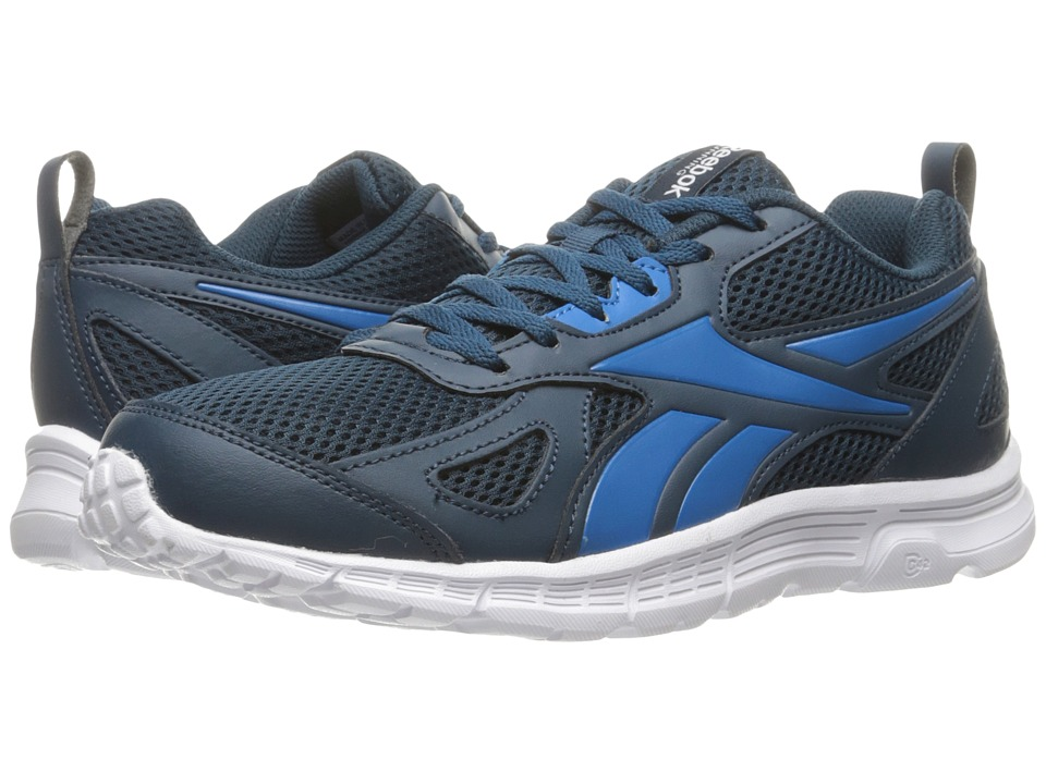 Reebok - Run Supreme Sprort Leather (Noble Blue/Instinct Blue/White) Men's Shoes