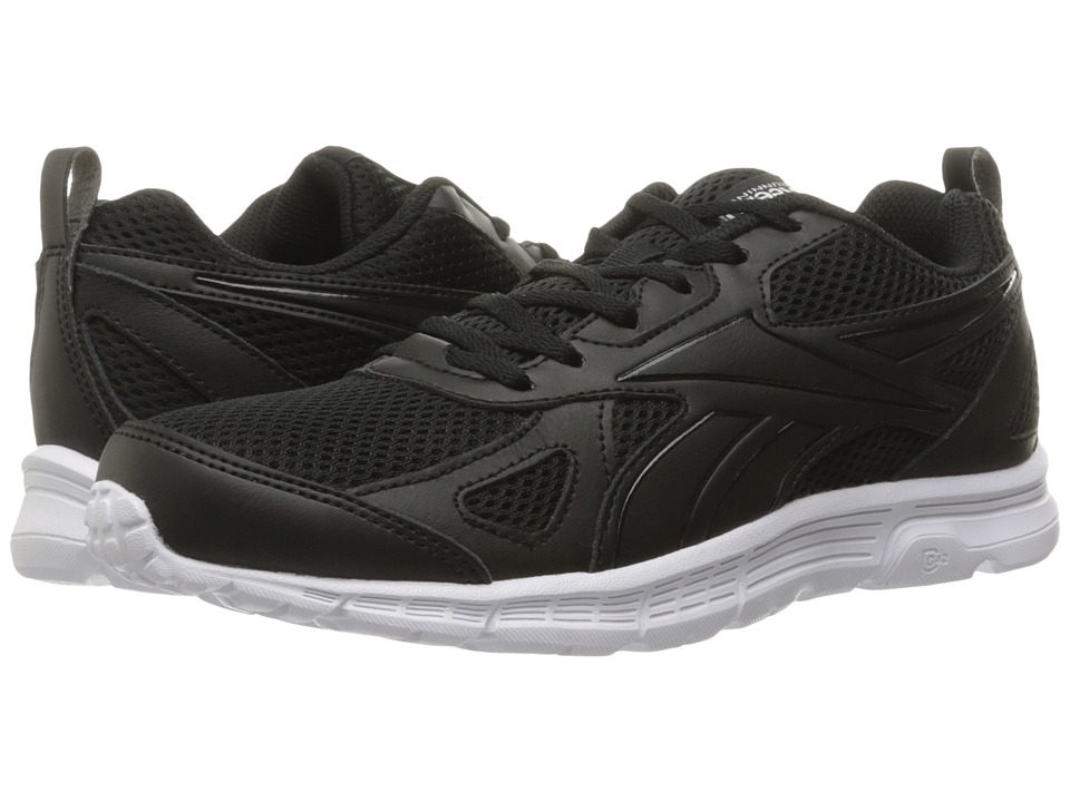 Reebok - Run Supreme Sprort Leather (Black/White) Men's Shoes