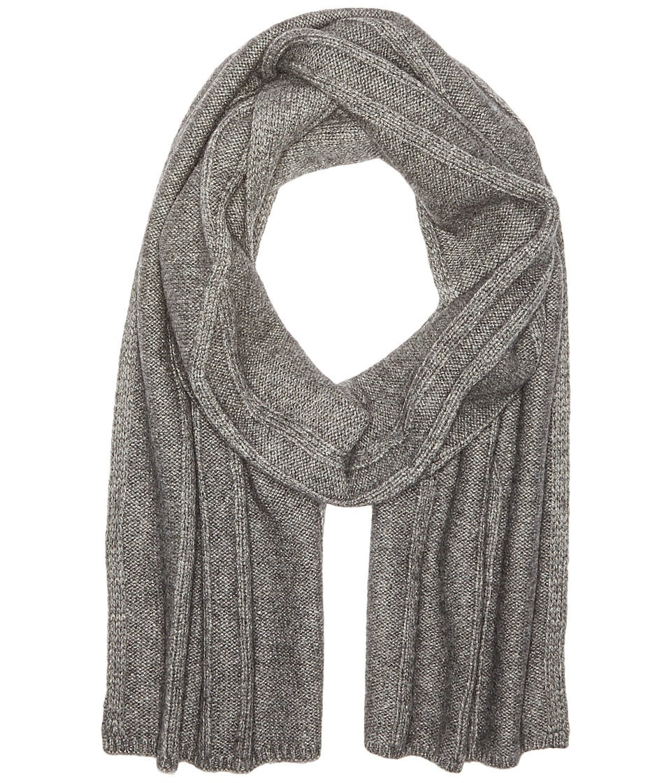 The North Face - Classic Wool Scarf (TNF Medium Grey Heather (Prior Season)) Scarves