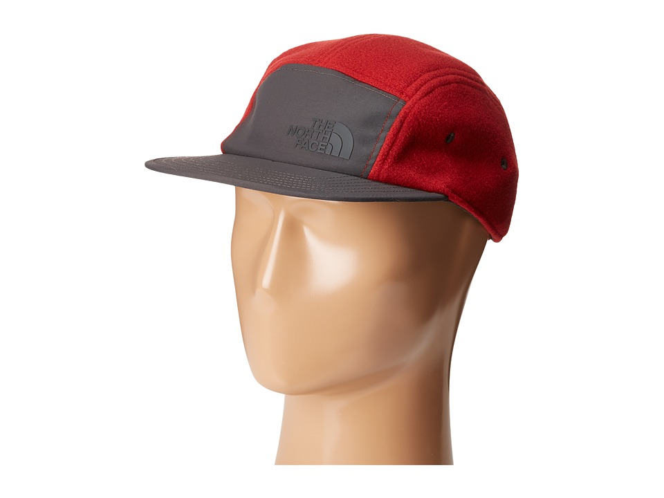 The North Face - Denali Five Panel (Cardinal Red) Caps