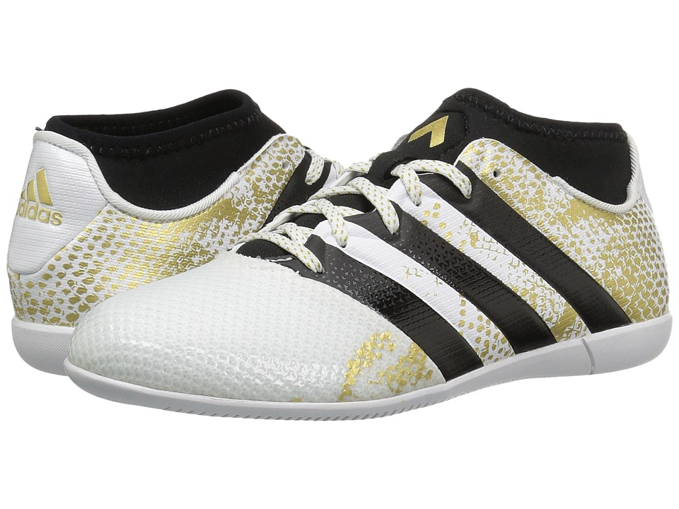 adidas Kids Ace 16.3 Primemesh IN Soccer (Little Kid/Big Kid) (White