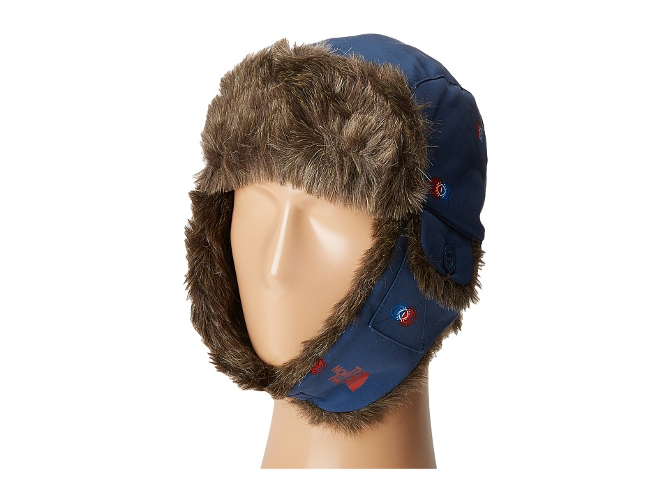 The North Face - Heli Hoser Hat (Shady Blue Double Vision Print) Caps