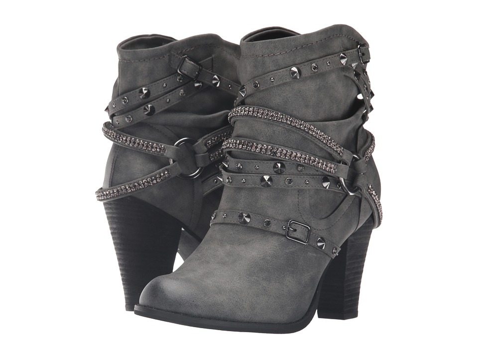 Not Rated - Swazy (Grey) Women's Boots