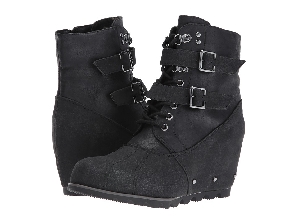 Not Rated - Hermione (Black) Women's Lace-up Boots