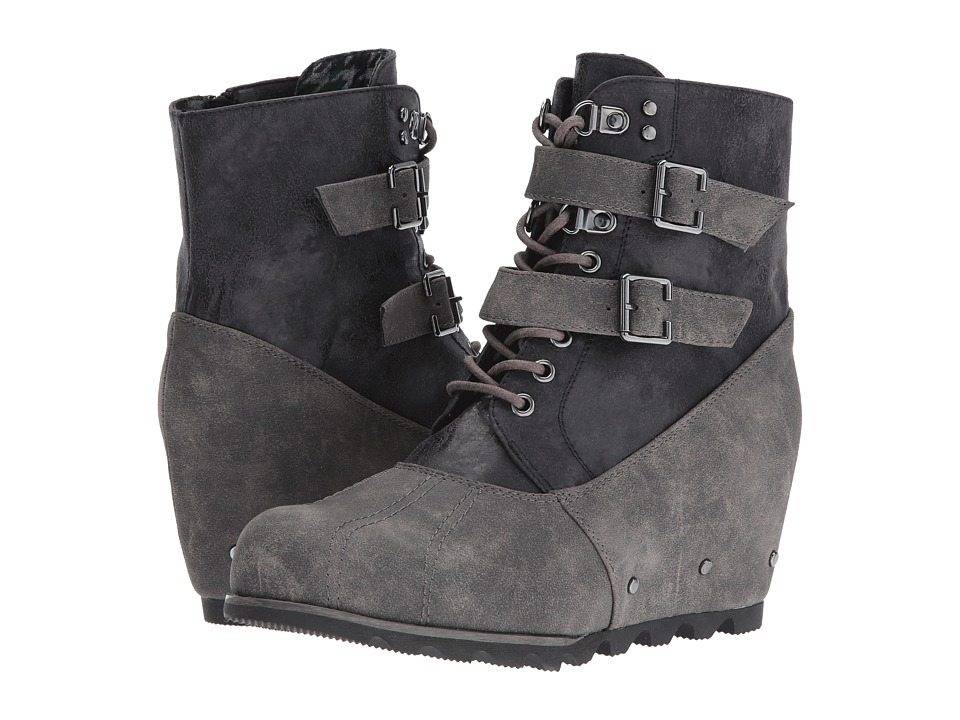 Not Rated - Hermione (Charcoal) Women's Lace-up Boots