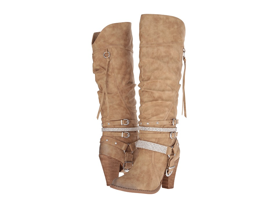 Not Rated - Stacey (Nude) Women's Boots