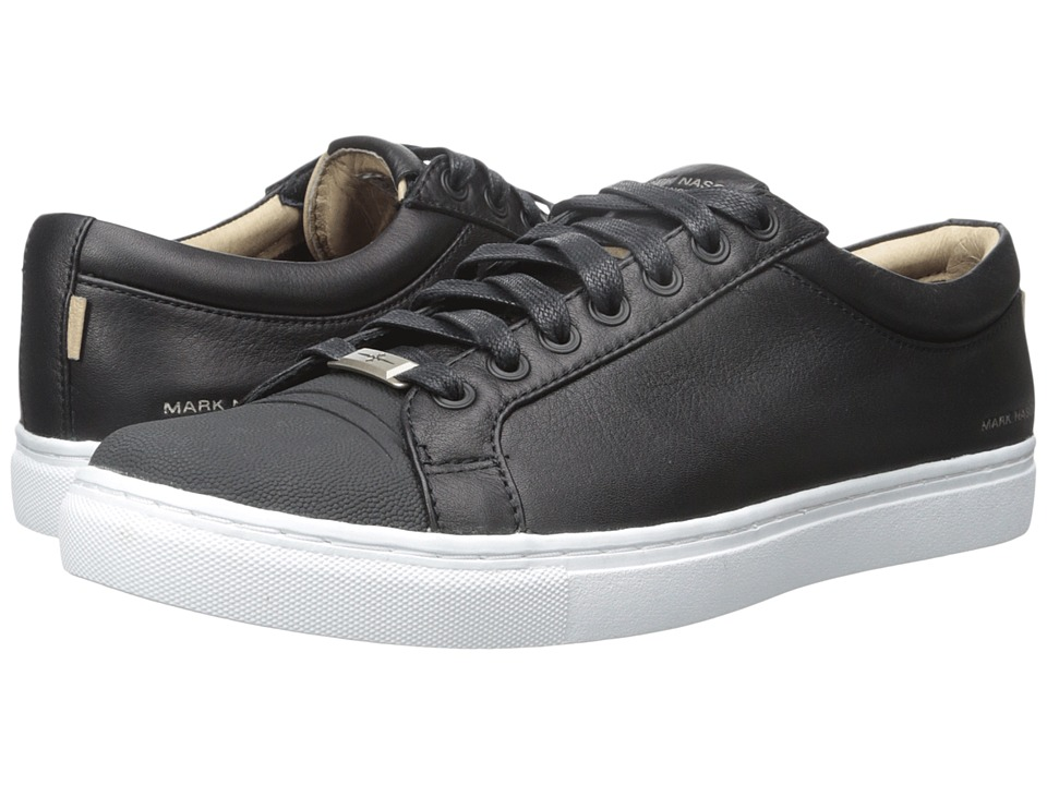 Mark Nason - Santee (Black Leather/White Bottom) Men's Lace up casual Shoes