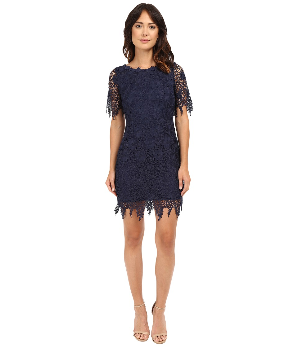 Brigitte Bailey - Ada Lace Dress (Navy) Women's Dress